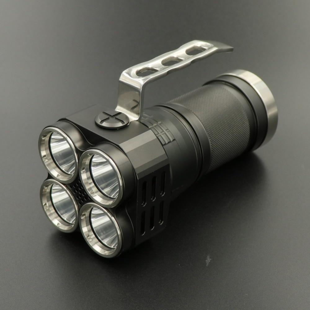 LUCKYSUN мощность УФ светодиодный Inspectioin фонарик 4 x nichia 365nm вентилятор рассеивать тепло функция