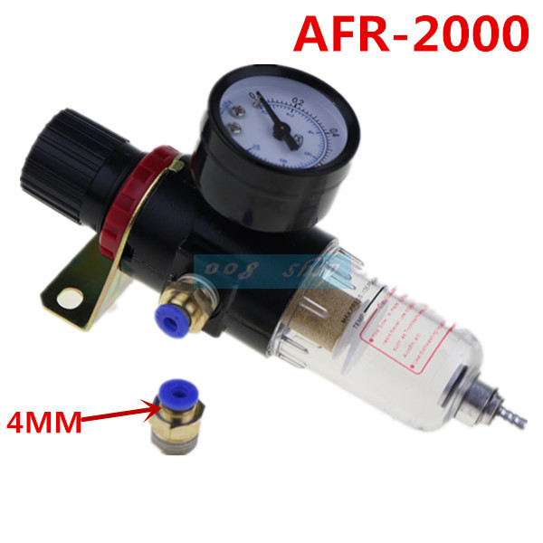 AFR-2000 Pneumatic Filter Regulator Air Treatment Unit Pressure Gauge AFR2000 Pressure Switches пневматические детали airtac 2000 pt 1 4 w afr2000 afr 2000