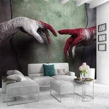 Custom wallpaper rabbit sleeping cute children background wall high-grade waterproof material