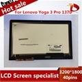 """Envío libre 13.3 """"LCD Montaje de la Pantalla Táctil del panel LLEVADA LTN133YL03 Para Lenovo Yoga 3 Pro 1370"""