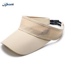 BKONE Men's Baseball Cap Quick Dry Sun-visor Women's Snapback Brand Mesh Caps SunHats Sportwear Adjust Travel Casual Summer Hat