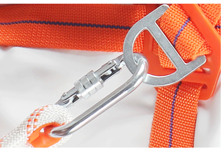 Safety Harness Five-point Type Systemic Safety belt with Double hook High-altitude operations Fall prevention Protect equipment (20)