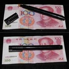 2 шт. деньги Checker детектор денег валютный детектор поддельный маркер поддельный тестер банкнот ручка чернила ручные инструменты для проверки