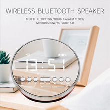 цена на Bluetooth Speaker Metal Portable Super Bass Wireless speaker Bluetooth5.0 3D Digital Sound Loudspeaker Handfree MIC TWS
