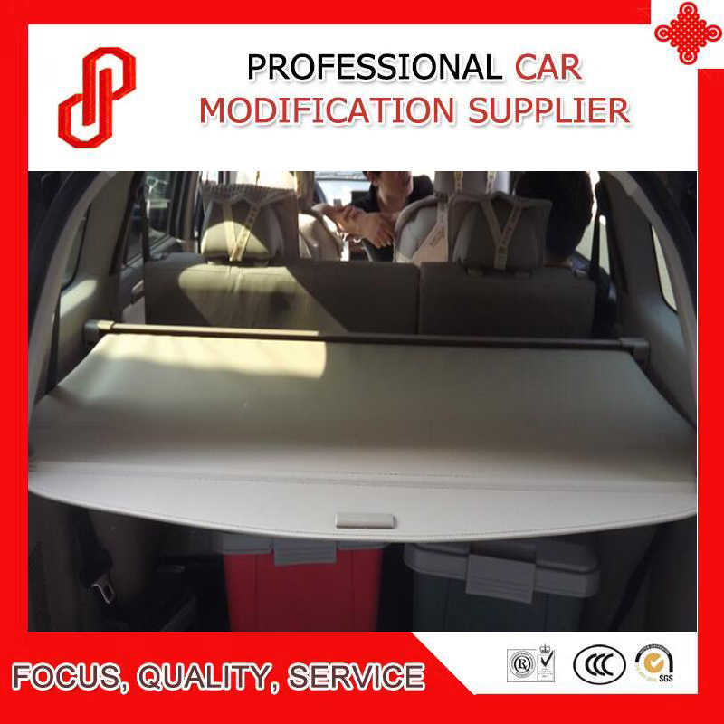 Black Beige Color Rear Trunk Security Shield Retractable Cargo