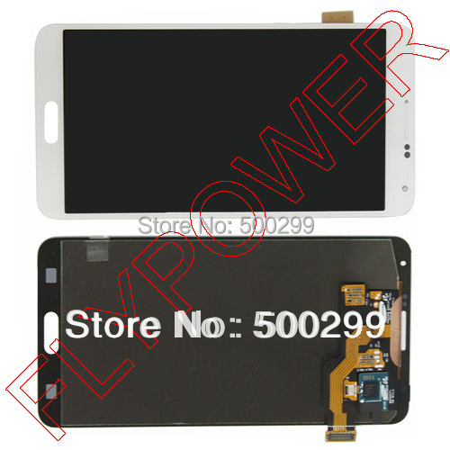 100% warranty For Samsung Galaxy Note 3 N9000 N9005 LCD Display + touch screen assembly White Without Frame