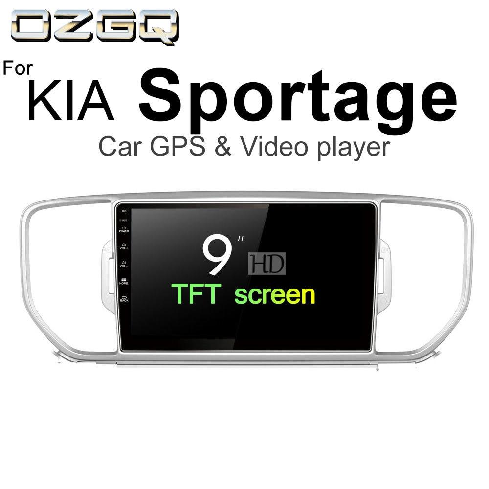 OZGQ Android 7.1 Car Player For KIA Sportage 2015 2016 2017 2018 Car GPS Auto Navigation BT Radio TV Audio Video Music Stereo