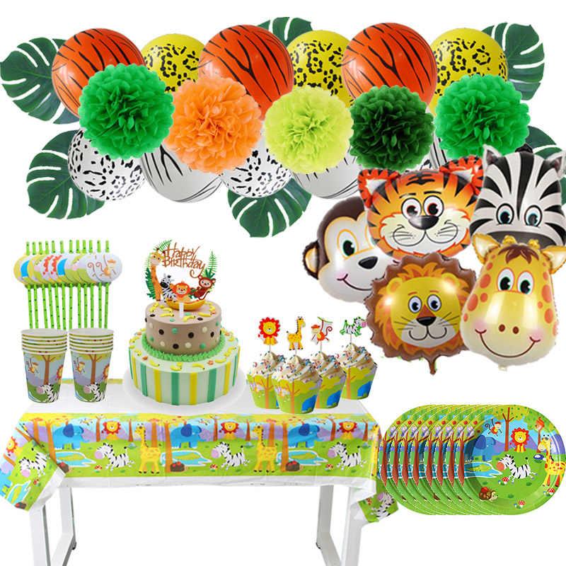 Baby Shower Safari Nino Decoracion.Safari Animal Theme Animal Car Table Centerpiece Baby Shower