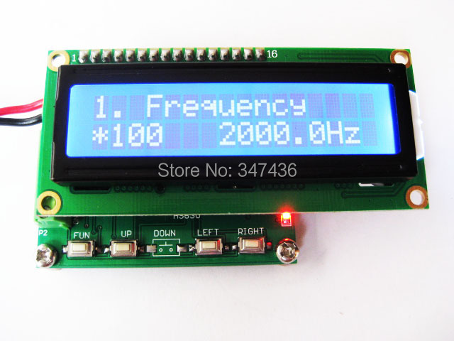 Three phase sinusoidal signal generator is adjustable from 0 to 360 degrees phase 1 00 200khz