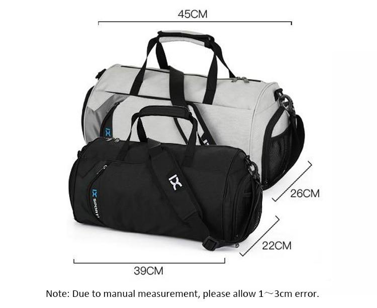 5ae7d0205f Sport Gym Bag Outdoor Waterproof Women Big Tote bag School Fitness Bag Men  Travel Shoulder Training ...