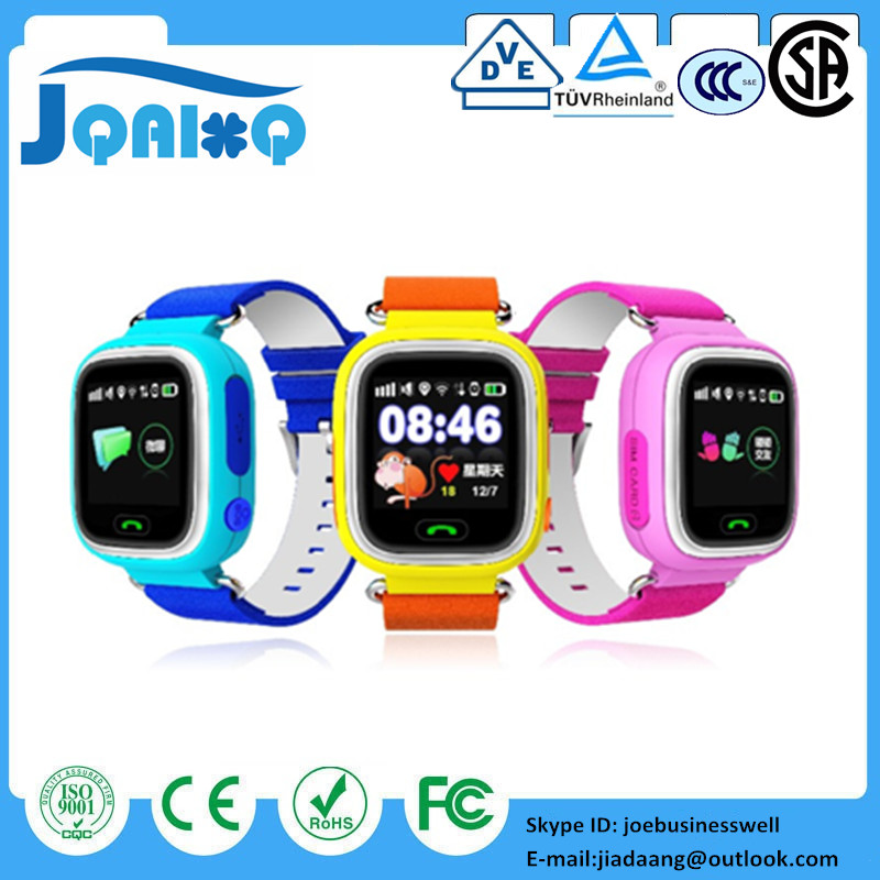 DHL 10pcs/lot Multicolor Touch Screen GPS Smart Watch Wristwatch SOS Location Tracker Kid Safe Anti Lose Smartwatch