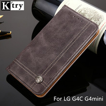 K'TRY Wallet Case For LG G4C G4mini Pu Leather Wallet Pouch Style Flip Cover Card Slot Stand Luxury Case With Card Pocket