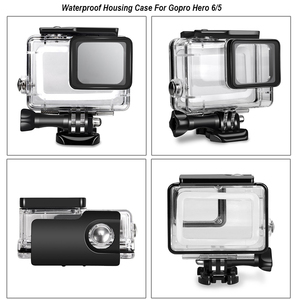 Image 4 - Водонепроницаемый чехол для корпуса камеры, маленькая коробка для хранения, жесткая сумка для Gopro Hero 6 5 4 3 3 + 5, чехол для подводной защиты