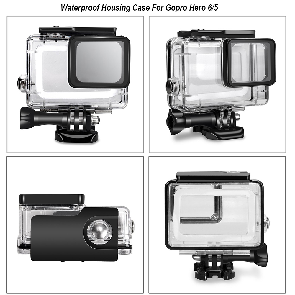 Image 4 - Waterproof Camera Housing Case Small Storage Box Hard Bag For Gopro Hero 6 5 4 3 3+ 5 Session Underwater Protector Case Cover-in Sports Camcorder Cases from Consumer Electronics