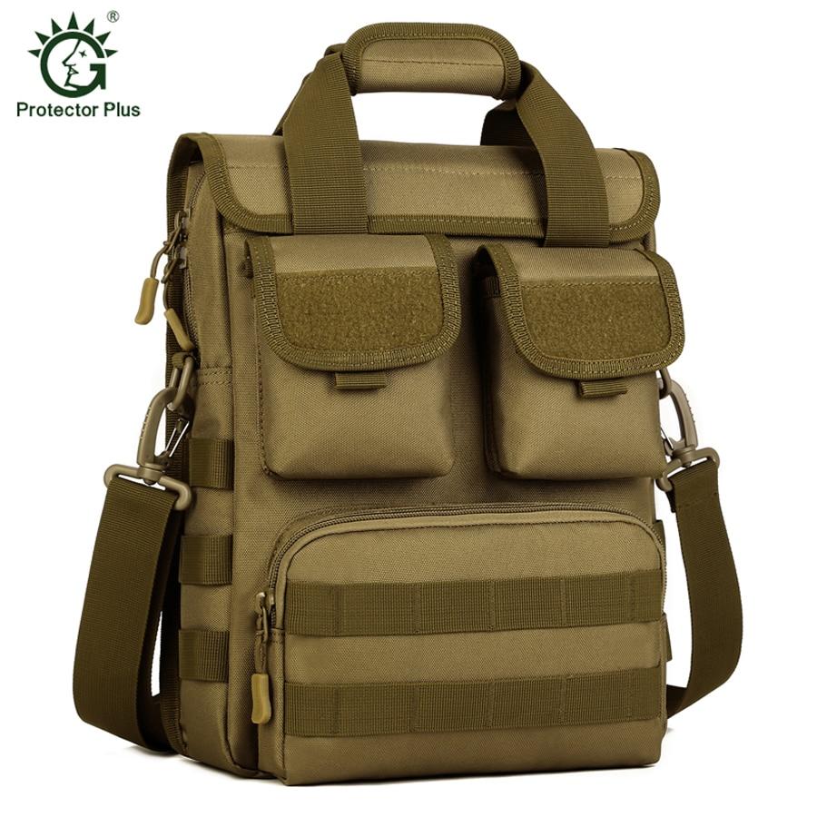 Multi-fungsi Sukan Luar Taktikal Lelaki Tentera Nylon Bag Man Messenger Bags Penyamaran kalis air Berkhemah Perjalanan Berkhemah