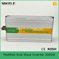 MKM2000 121G hot sale 2000Watt modified sine dc ac 12V 110V truck power inverters for trucks made in china
