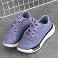 Women Running Shoes Female Sports Shoes Non Slip Damping Outdoor Running Shoes Pu Leather Sneakers(210)