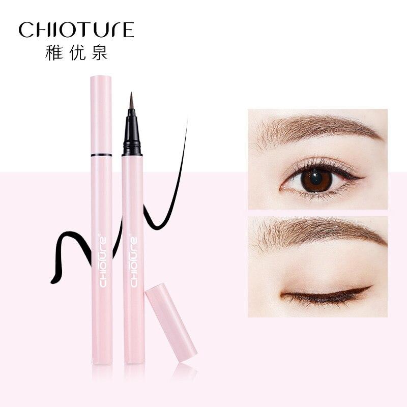 CHIOTURE Marca Liquid Eyeliner Impermeable, Maquillaje de secado - Maquillaje