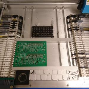 Image 4 - En çok satan kitap! 58 besleyiciler CHMT48VB All in one, PC inşa SMT yakala ve yerleştir makinesi, kapalı döngü kontrolü, 2 kameralar 110 v 220 v