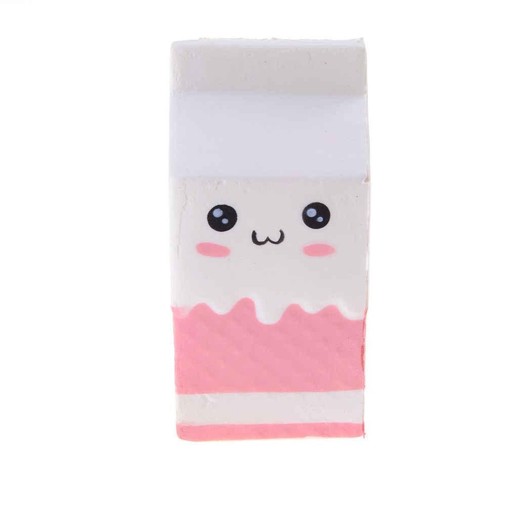 Antistress บีบของเล่นที่เพิ่มขึ้นช้า JUMBO Squishy French Fries/นม/โดนัท/ยูนิคอร์น/ข้าวโพดคั่ว/Ice Cream /สุนัข/หมี PANDA