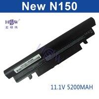 HSW 5200mAH Laptop Battery For Samsung N143 N145P N148 N150 N250 N260 AA PB2VC3B AA PB2VC3W
