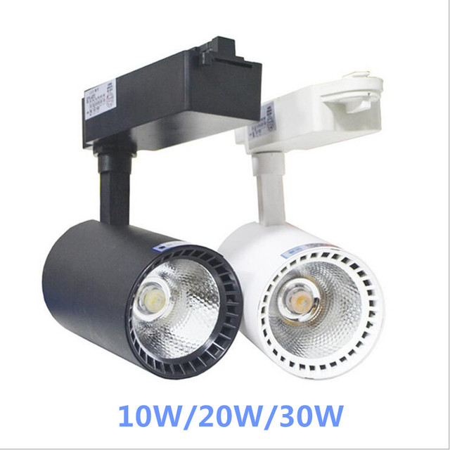 10w 20w 30w led track spotlightcob ceiling lamp track for shop 10w 20w 30w led track spotlightcob ceiling lamp track for shop hotels accent task aloadofball Images