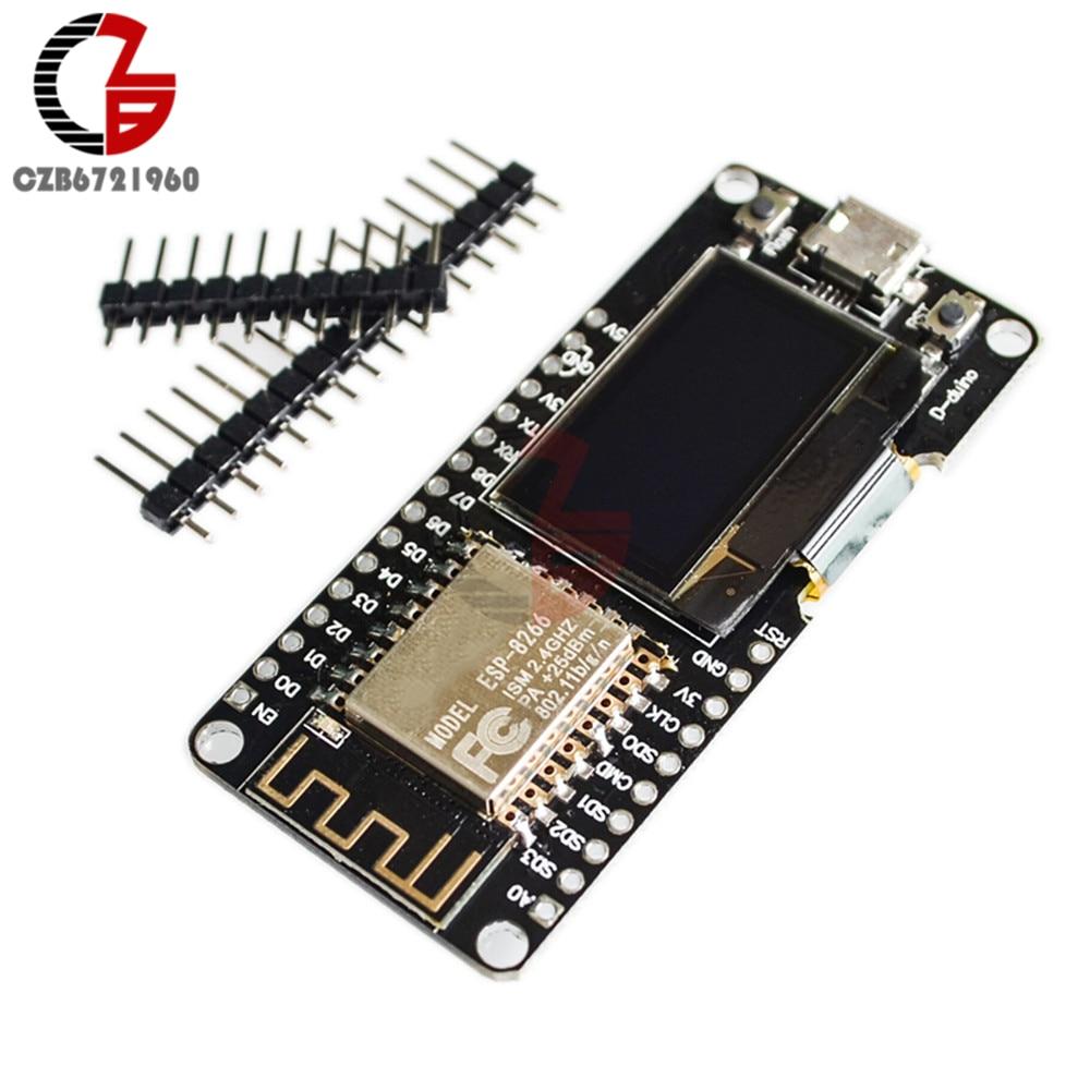 Wemos CP2102 ESP8266 ESP-12F Drahtlose Wifi Modul USB zu TTL Entwicklungsboard 0,96