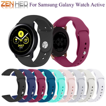 20mm Watch Band Strap For Samsung Galaxy Active Silicone Wrist Bracelet Accessories