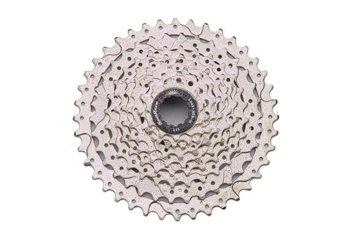 ФОТО SunRace mtb Bike Freewheel bicycle freewheel Mountain Bicycle Cassette 9 Speed 11-40T