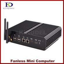 Kingdel intel haswell 4-го поколения cpu core i7-4500u безвентиляторный mini pc micro desktop pc с 8 ГБ ram + 1 ТБ hdd, 4 * USB3.0, 2 * HDMI, 2 * LAN