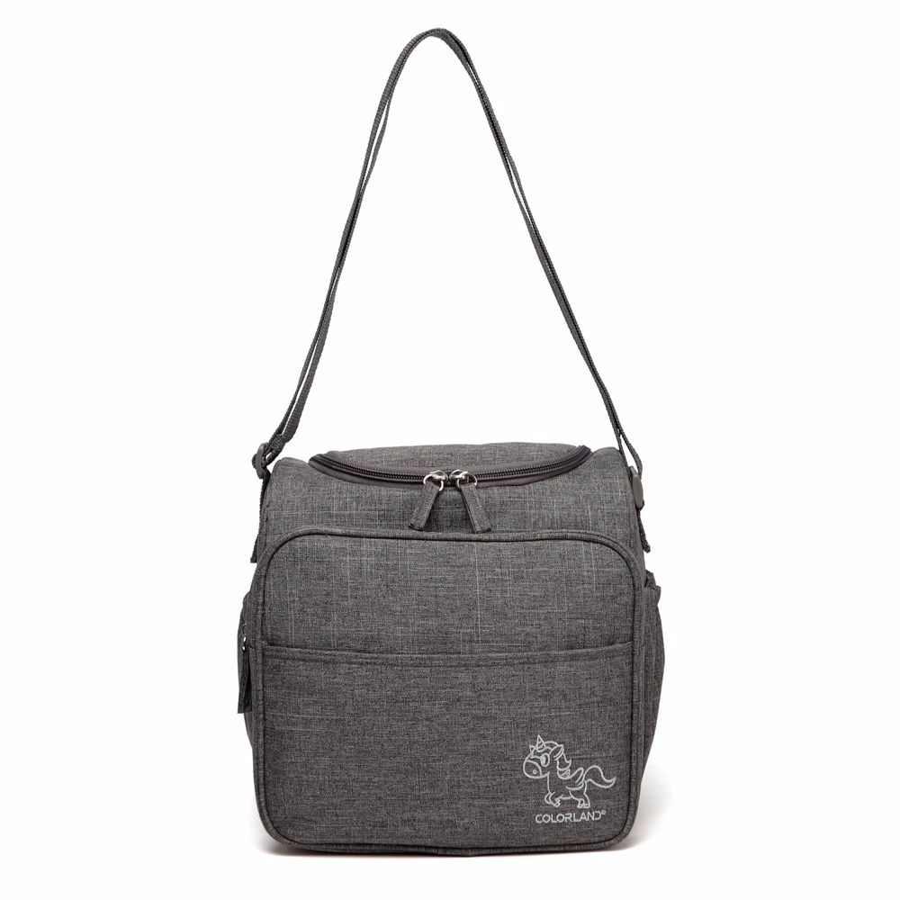 4c31a4e9b651 Colorland Детская сумка Мама дорожная пеленка сумка органайзер подгузники  Материнские сумки для мамы сумка-мессенджер