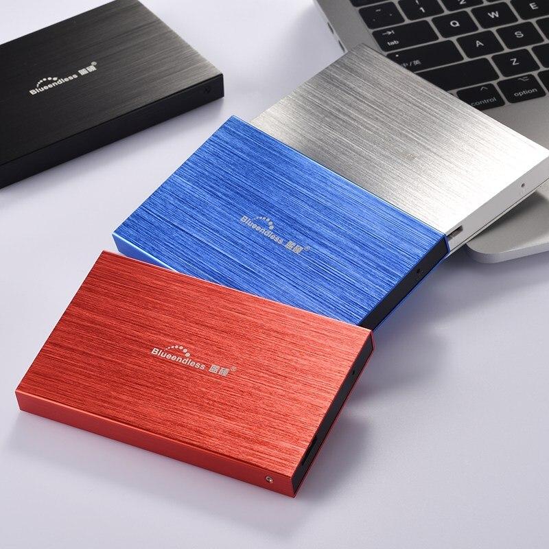 Blueendless External Hard Drive 120GB HDD USB3 0 2 5 High Speed Hard Disk Laptop Desktop