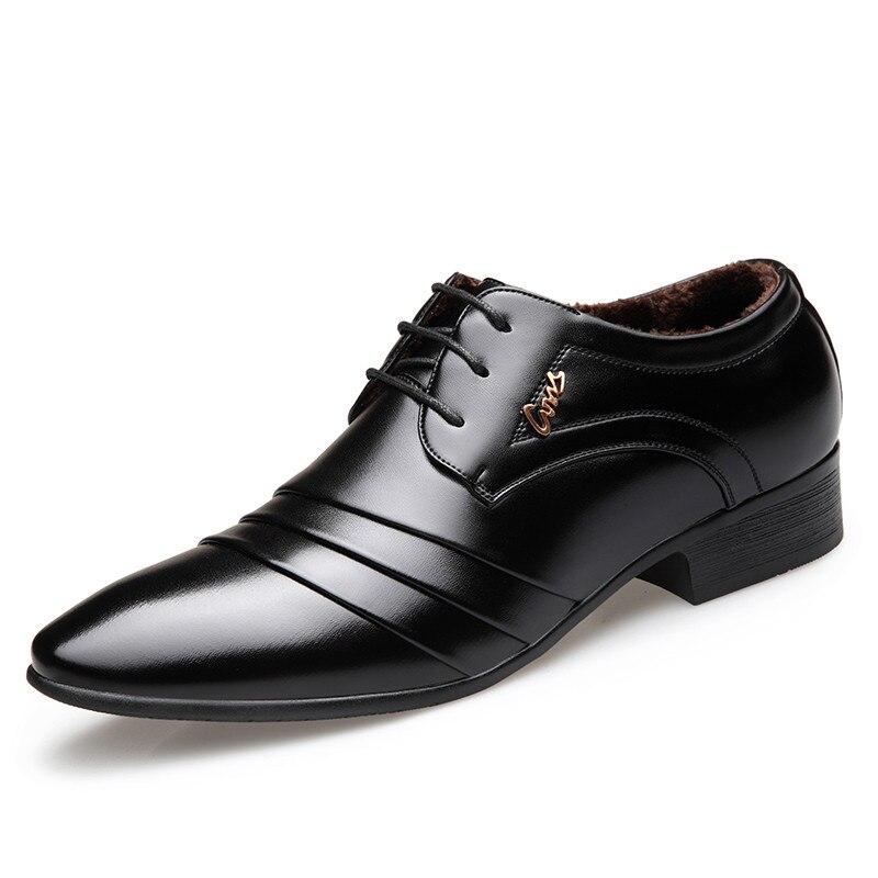 Zapatos Robe Sapato Verni Hombre Peluche 2 1 Chaussures Mariage Hommes De Pour En Courte Masculino Oxford Cuir Formelle wqESBpF