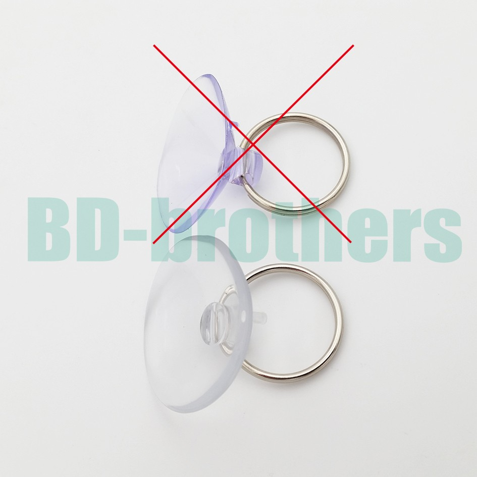 High Quality 26mm - 35mm Suction Cup Thicker Transparent PVC Sucker Cups Opening Vacuum Chuck Tools for Phone 3000Sets/lot
