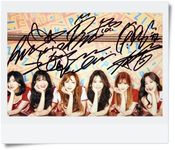 signed APINK autographed  original photo PINK UP 6 inches freeshipping 5 VERSIONS  072017 signed cnblue jung yong hwa autographed photo do disturb 4 6 inches freeshipping 072017 01