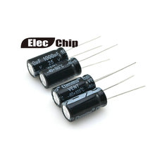 1000uF 25V 10*20 condensador electrolítico de aluminio 200 unids/lote