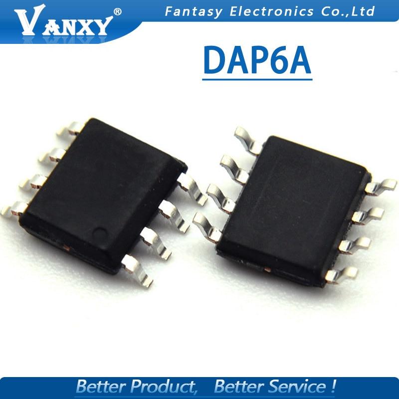 5pcs DAP6A SOP8 DAP6ADR2G SOP-8 DAP6 SOP LCD Management P New Original
