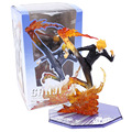 Anime One Piece Figuarts Zero Sanji Diable Jambe Batalha Ver. PVC Figura Collectible Toy Modelo