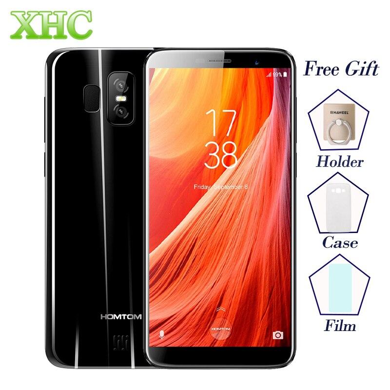 LTE 4G HOMTOM S7 5.5'' Smartphones 3GB+32GB Dual Back Cameras Fingerprint Android 7.0 MTK6737 Quad Core Dual SIM OTA Cellphones