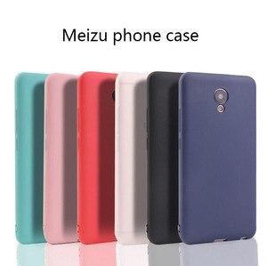 Ricestate Cover case for Meizu M3 M3S M5 M5S M6 M6S Note Pro 6 6S Pro 7 Plus U20 U10 M5C A5 MX6 Silicone Soft TPU Matte case(China)