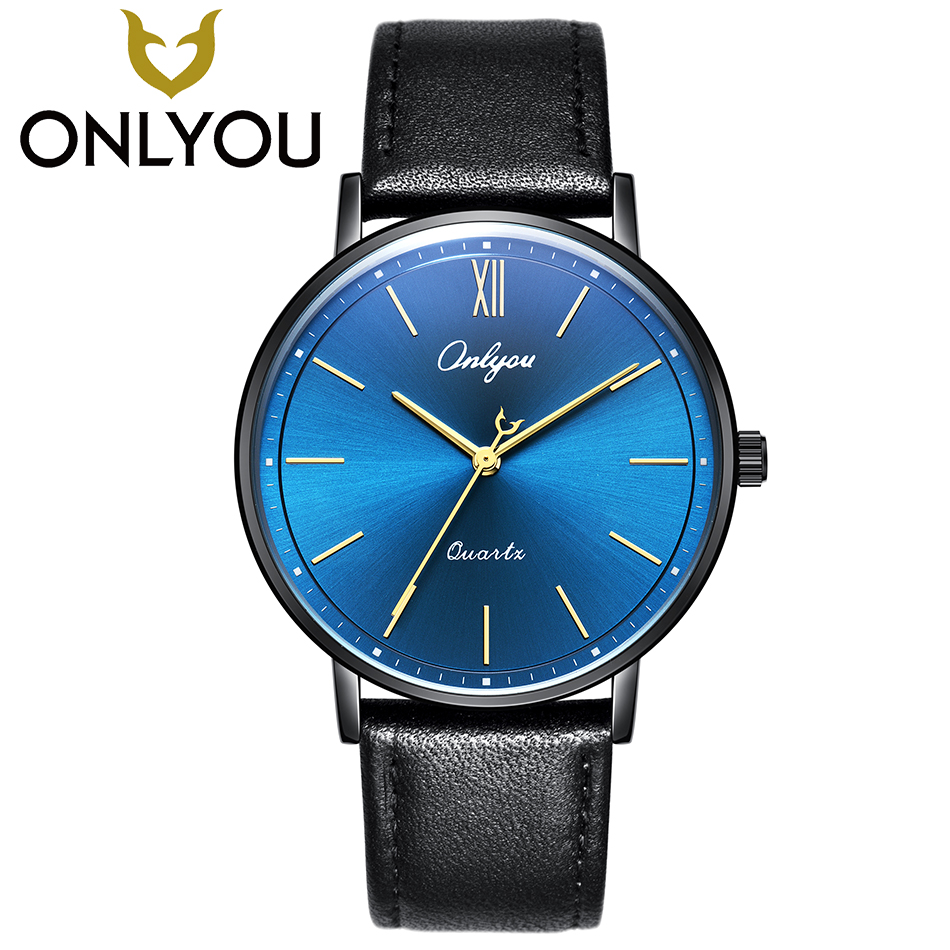 ONLYOU Top Fashion Brand Lover Watch Men Business Quartz Clock New Arrival Women Simple Casual Wristwatch Valentine's Day Gift new arrival 2015 brand quartz men casual watches v6 wristwatch stainless steel clock fashion hours affordable gift
