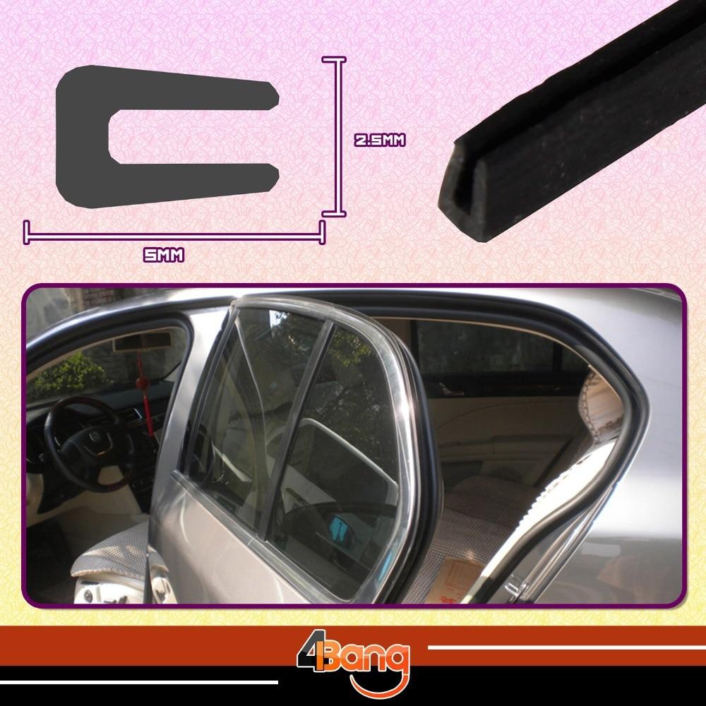10ft Auto Car Van Rubber Seal Door Lip Anti Collision Moulding Weatherstrip Trim