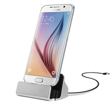 Android Micro USB Desktop Docking Station Charger for Samsung S5 mini S4 S6 S7 edge A5 J3 J1 Huawei P8 Lite LG G3 G4 Adapter