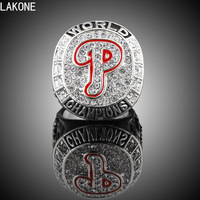 Championship Rings 2008 Philadelphia Phillies World Championship Rings Sports Fans Rings Men Gift Ring