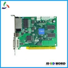 HUIDU T901 Vídeo full color display LED tela de Envio de cartão suporta R501/R502/R500/R501S/R505 /R507