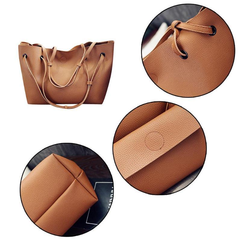 2 Pcs/Set High Capacity Bags for Women  hand bags  Handbags Women Bags 4 one size 36