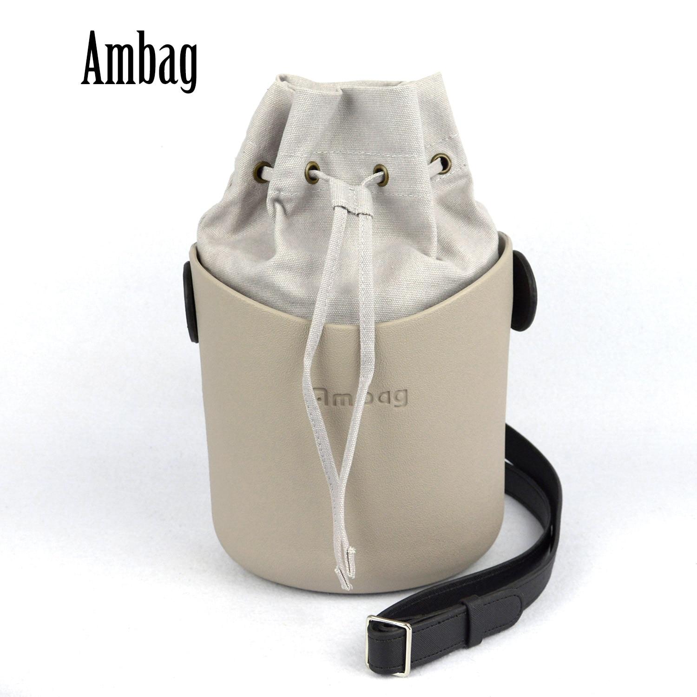 2019 Obag Style Ambag EVA O Basket with Handles Straps insert Women Shoulder Bag DIY Bag