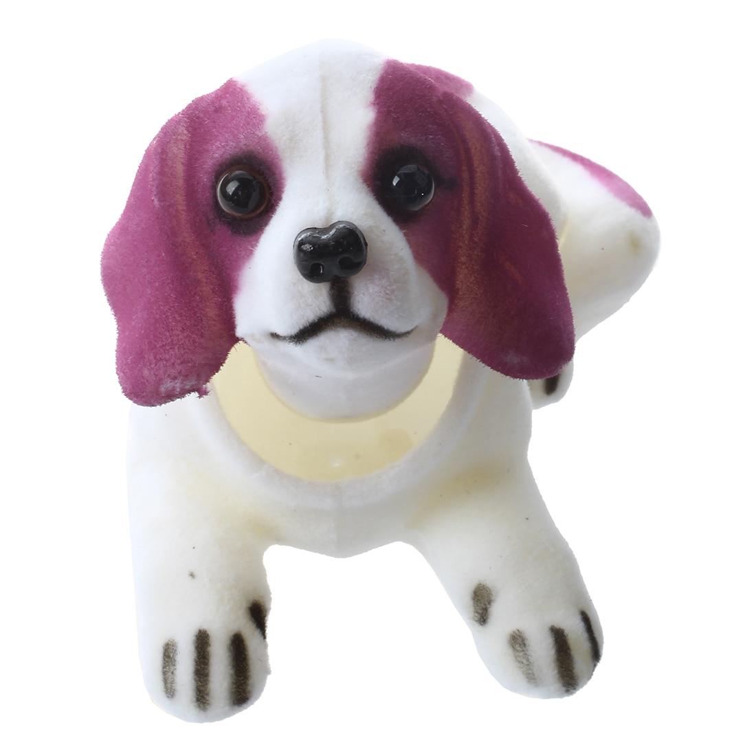 Promotion! Car Auto Decoration Fragrant Saint Bernard Bobbing Head Bobblehead Dogs