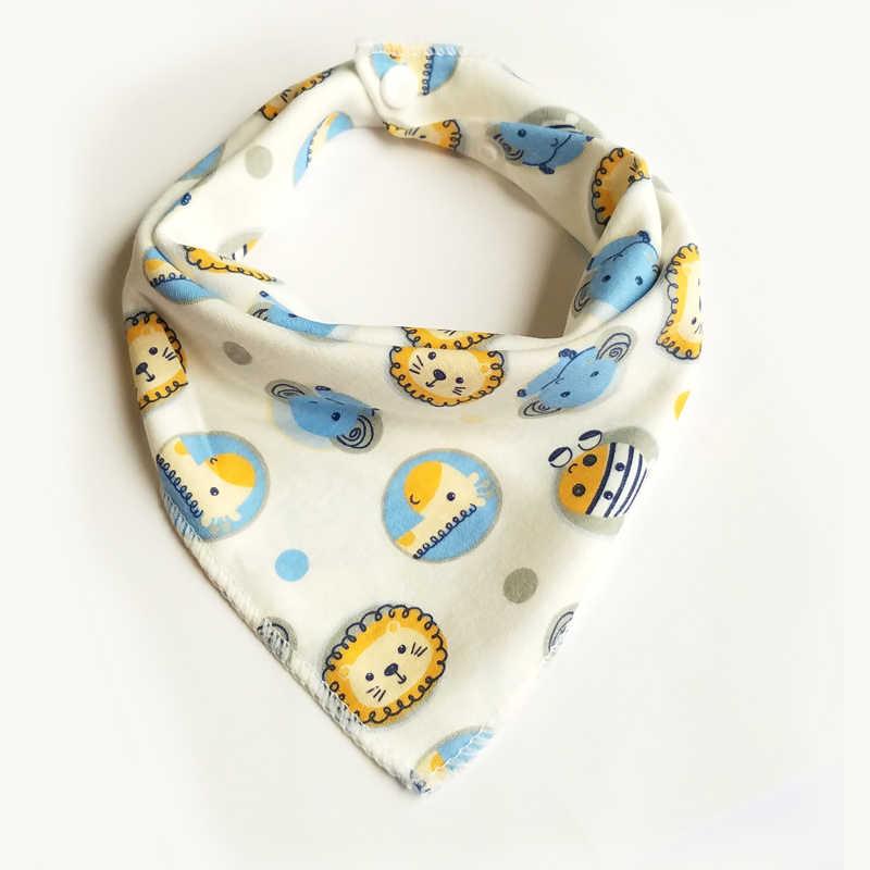 Baberos de bebé recién nacido bandana babero de Saliva babero de alimentación infantil toallas de saliva lindo babero de dibujos animados ropa de bebé