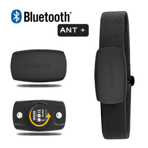 Magene Heart Rate Monitor Bluetooth4.0 ANT+ Sensor for GARMIN Bryton IGPSPORT Computer Running Sport w/ Chest Strap MHR10 Update(China)